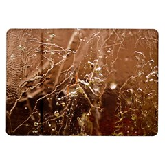 Ice Iced Structure Frozen Frost Samsung Galaxy Tab 10 1  P7500 Flip Case