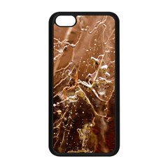 Ice Iced Structure Frozen Frost Apple Iphone 5c Seamless Case (black)