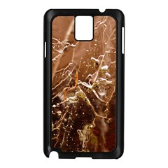 Ice Iced Structure Frozen Frost Samsung Galaxy Note 3 N9005 Case (black)