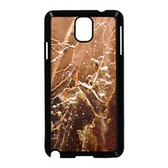 Ice Iced Structure Frozen Frost Samsung Galaxy Note 3 Neo Hardshell Case (black)