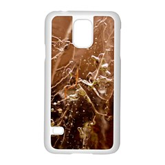 Ice Iced Structure Frozen Frost Samsung Galaxy S5 Case (white)