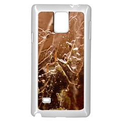 Ice Iced Structure Frozen Frost Samsung Galaxy Note 4 Case (white)