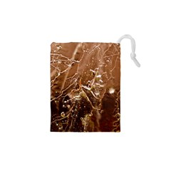 Ice Iced Structure Frozen Frost Drawstring Pouches (xs)