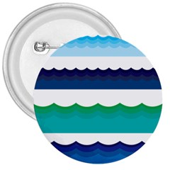 Water Border Water Waves Ocean Sea 3  Buttons