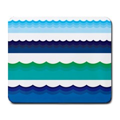 Water Border Water Waves Ocean Sea Large Mousepads