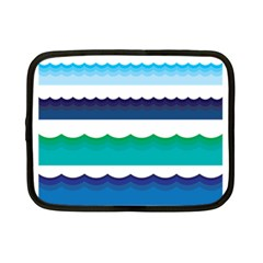 Water Border Water Waves Ocean Sea Netbook Case (small)