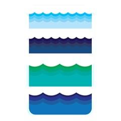 Water Border Water Waves Ocean Sea Memory Card Reader