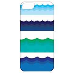 Water Border Water Waves Ocean Sea Apple Iphone 5 Classic Hardshell Case