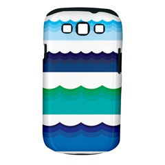 Water Border Water Waves Ocean Sea Samsung Galaxy S Iii Classic Hardshell Case (pc+silicone)
