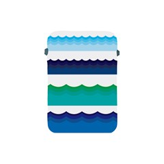 Water Border Water Waves Ocean Sea Apple Ipad Mini Protective Soft Cases