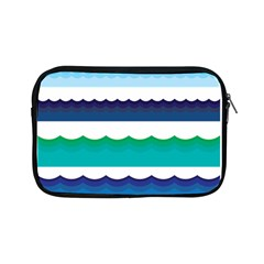Water Border Water Waves Ocean Sea Apple Ipad Mini Zipper Cases