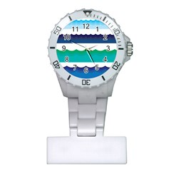 Water Border Water Waves Ocean Sea Plastic Nurses Watch