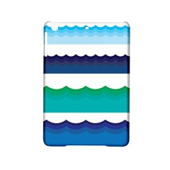 Water Border Water Waves Ocean Sea Ipad Mini 2 Hardshell Cases