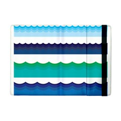 Water Border Water Waves Ocean Sea Ipad Mini 2 Flip Cases