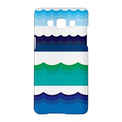 Water Border Water Waves Ocean Sea Samsung Galaxy A5 Hardshell Case