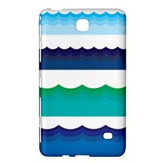 Water Border Water Waves Ocean Sea Samsung Galaxy Tab 4 (7 ) Hardshell Case