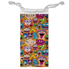 Smiley Pattern Jewelry Bag
