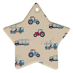 Truck Ornament (star)
