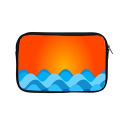 Water Orange Apple Macbook Pro 13  Zipper Case