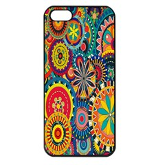 Tumblr Static Colorful Apple Iphone 5 Seamless Case (black)