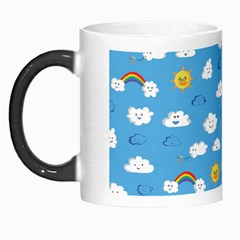 White Clouds Morph Mugs