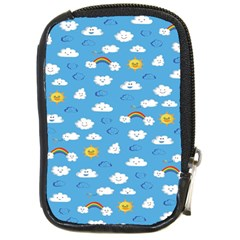 White Clouds Compact Camera Cases