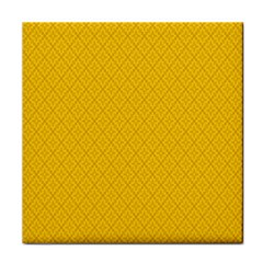 Yellow Flower Tile Coasters