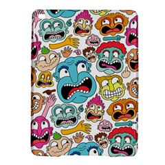 Weird Faces Pattern Ipad Air 2 Hardshell Cases