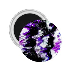 Abstract Canvas Acrylic Digital Design 2 25  Magnets