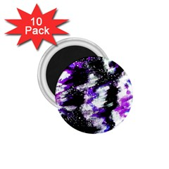 Abstract Canvas Acrylic Digital Design 1 75  Magnets (10 Pack)