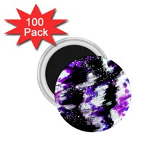 Abstract Canvas Acrylic Digital Design 1 75  Magnets (100 Pack)