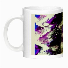 Abstract Canvas Acrylic Digital Design Night Luminous Mugs