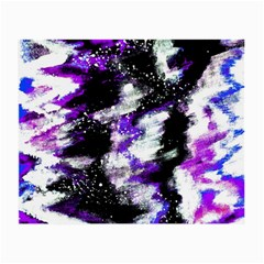 Abstract Canvas Acrylic Digital Design Small Glasses Cloth