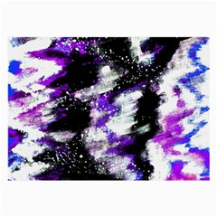 Abstract Canvas Acrylic Digital Design Large Glasses Cloth (2 Side)