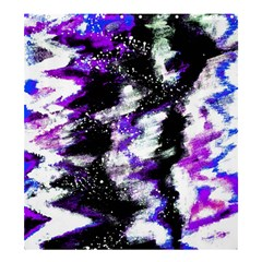 Abstract Canvas Acrylic Digital Design Shower Curtain 66  X 72  (large)
