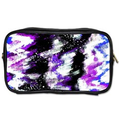 Abstract Canvas Acrylic Digital Design Toiletries Bags 2 Side