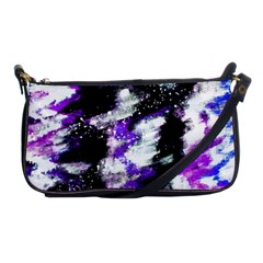 Abstract Canvas Acrylic Digital Design Shoulder Clutch Bags