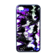 Abstract Canvas Acrylic Digital Design Apple Iphone 4 Case (black)
