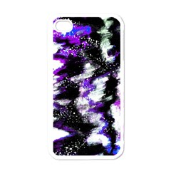 Abstract Canvas Acrylic Digital Design Apple Iphone 4 Case (white)