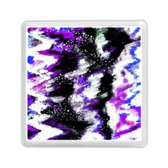 Abstract Canvas Acrylic Digital Design Memory Card Reader (square)