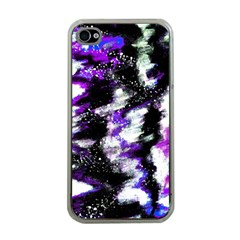 Abstract Canvas Acrylic Digital Design Apple Iphone 4 Case (clear)