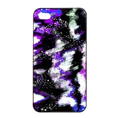 Abstract Canvas Acrylic Digital Design Apple Iphone 4/4s Seamless Case (black)