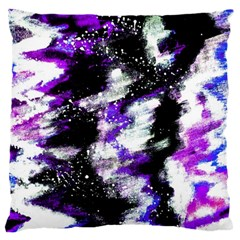 Abstract Canvas Acrylic Digital Design Large Cushion Case (two Sides)
