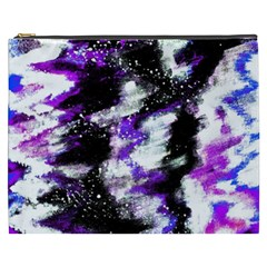 Abstract Canvas Acrylic Digital Design Cosmetic Bag (xxxl)