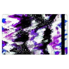 Abstract Canvas Acrylic Digital Design Apple Ipad 2 Flip Case