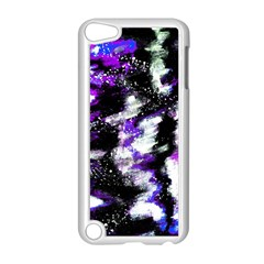 Abstract Canvas Acrylic Digital Design Apple Ipod Touch 5 Case (white)