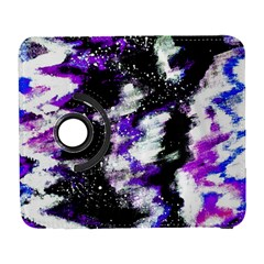 Abstract Canvas Acrylic Digital Design Galaxy S3 (flip/folio)