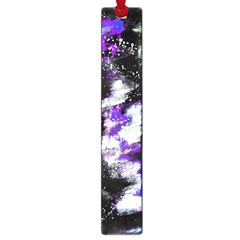 Abstract Canvas Acrylic Digital Design Large Book Marks