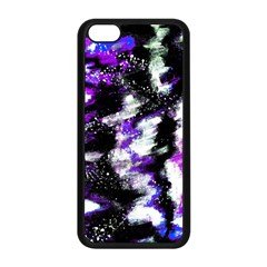 Abstract Canvas Acrylic Digital Design Apple Iphone 5c Seamless Case (black)