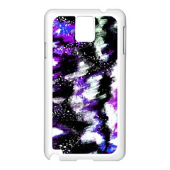 Abstract Canvas Acrylic Digital Design Samsung Galaxy Note 3 N9005 Case (white)